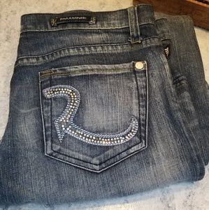 Rock and Republic crystal jeans